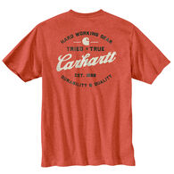 Carhartt Men's Big & Tall Relaxed Fit Heavyweight Pocket Tried and True Graphic Short-Sleeve T-Shirt