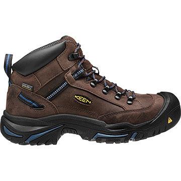 Keen Mens Braddock AL Mid Waterproof Steel Toe Work Boot