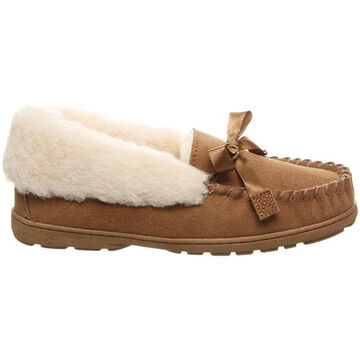 Bearpaw Womens Indio Fleece-Lined Slipper