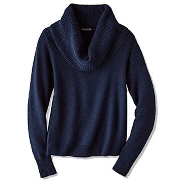Pendleton Woolen Mills Womens Textured Drape Neck Pullover Sweater