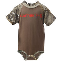 Carhartt Infant/Toddler Boy's Camo Raglan Bodyshirt