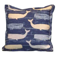 """Paine Products 6"""" x 6"""" Whale Design Balsam Pillow"""
