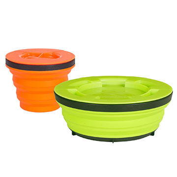 Sea to Summit X-Seal & Go Small Collapsible Food Container Set