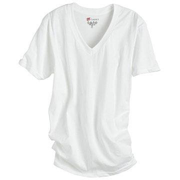 Hanes Mens V-neck T-Shirt - 3/pk