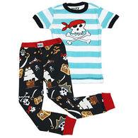Lazy One Toddler Boys' Pirate PJ Set