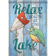 Carson Home Accents Flagtrends Lake Life Garden Flag