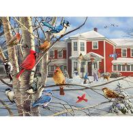 White Mountain Jigsaw Puzzle - Winter Gathering