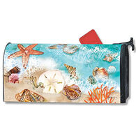 MailWraps Seashore Treasures Magnetic Mailbox Cover