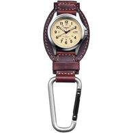 Dakota Leather Hanger Carabiner Watch