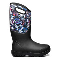 Bogs Women's Neo-Classic Real Flower Insulated Farm Boot