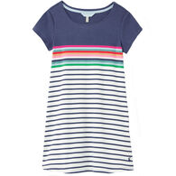 Joules Girl's Riviera Short-Sleeve Dress