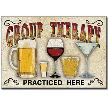 Desperate Enterprises Group Therapy Magnet