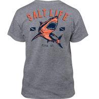 Salt Life Boy's Camo Shark Short-Sleeve T-Shirt