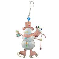 Pilgrim Imports Skating Snowman Ornament