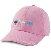 Life is Good Women's Dragonfly Triplet Sunwashed Chill Cap