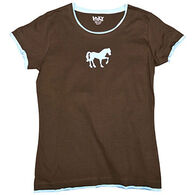 Lazy One Junior's Filly Fitted T-Shirt
