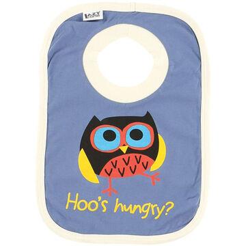 Lazy One Toddler Boys Hoos Hungry Bib