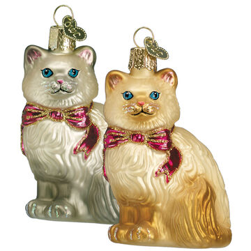 Old World Christmas Himalayan Cat Ornament
