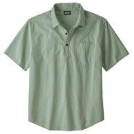 Patagonia Men's Organic Cotton Seersucker Pullover Short-Sleeve Shirt