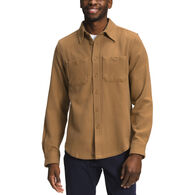 The North Face Men's Valley Twill Flannel Long-Sleeve Shirt