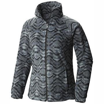 Columbia Womens Benton Springs Printed Full-Zip Jacket