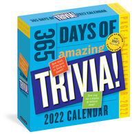 365 Days of Amazing Trivia! 2022 Page-A-Day Calendar by Workman Publishing
