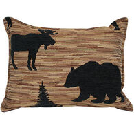 """Paine Products 10"""" x 14"""" Moose Bear Balsam Pillow"""