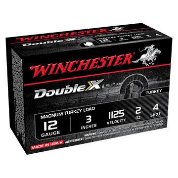 Winchester Double X 12 GA 3 2 oz. #4 Shotshell Ammo (10)