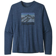 Patagonia Men's Capilene Cool Daily Graphic Long-Sleeve T-Shirt