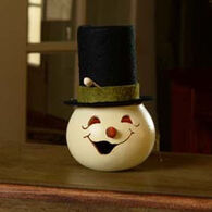 Meadowbrooke Gourds Small Snowman Head Gourd