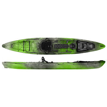Wilderness Systems Thresher 155 Sit-on-Top Fishing Kayak w/ Rudder - 2016 Model
