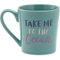 Life is Good Everyday Take Me To The Ocean Mug
