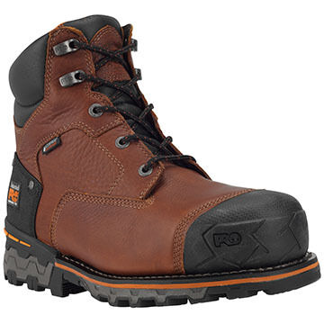 Timberland PRO Mens Boondock 6 Comp Toe Work Boot