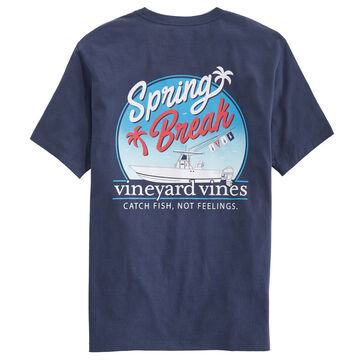 Vineyard Vines Mens Spring Break Short-Sleeve T-Shirt