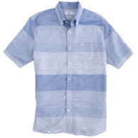 Southern Tide Men's Variegated Striped Short-Sleeve Shirt