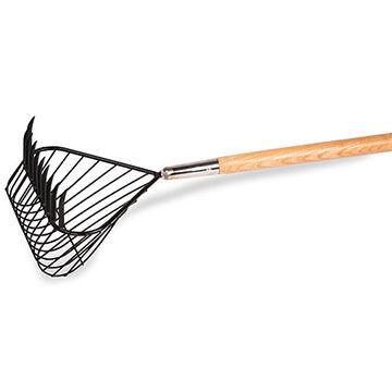 K. B. White Basket Rake