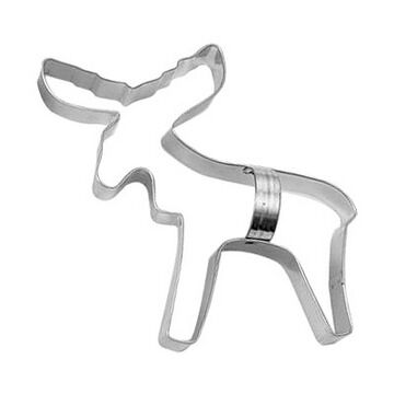 Ann Clark Tin Cookie Cutter - Moose