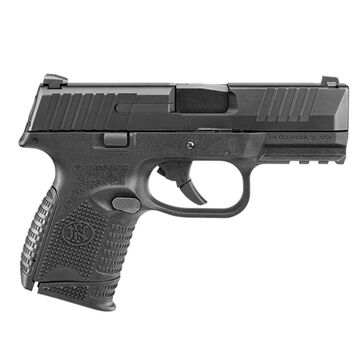 FN 509 Compact NMS Black 9mm 3.7 12 & 15-Round Pistol