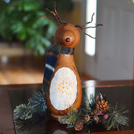 Meadowbrooke Gourds Dash Small Tall Lit Boy Reindeer Gourd