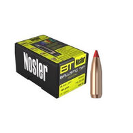 "Nosler Ballistic Tip Hunting 7mm 120 Grain .284"" Spitzer Point / Red Tip Rifle Bullet (50)"