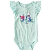 Carhartt Infant Girl's Farm Chick Short-Sleeve Bodyshirt