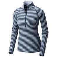 Mountain Hardwear Women's Butterlicious Stripe 1/2-Zip Long-Sleeve Shirt