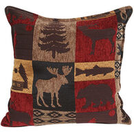 """Paine Products 11"""" x 11"""" Wildlife Balsam Pillow"""