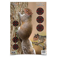 "Birchwood Casey Pregame 12"" x 18"" Squirrel Reactive Paper Target - 8 Pk."
