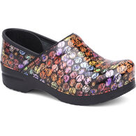 Dansko Women's Script Patent Leather Professional Clog