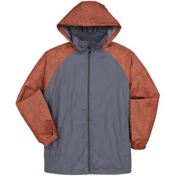 Kenpo Mens i5 Nylon Full-Zip Hooded Jacket