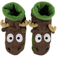 Lazy One Boys' & Girls' Moose Woodland Slipper
