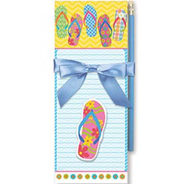 Cape Shore Flip Flop Parade Magnetic Pad Gift Set