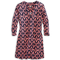 Southern Tide Women's Jamie Ikat Performance Dress