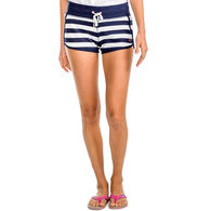 Southern Tide Women's Jodie French Terry Stripe Short